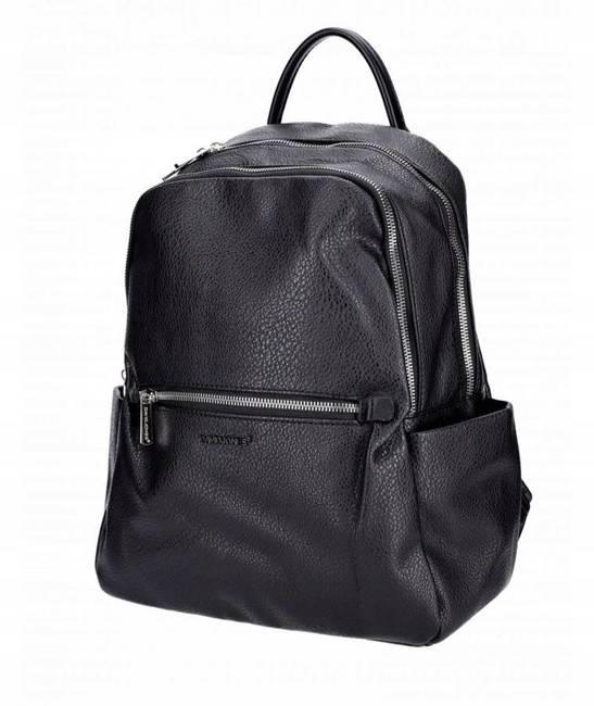 Plecak damski czarny David Jones CM6088 BLACK