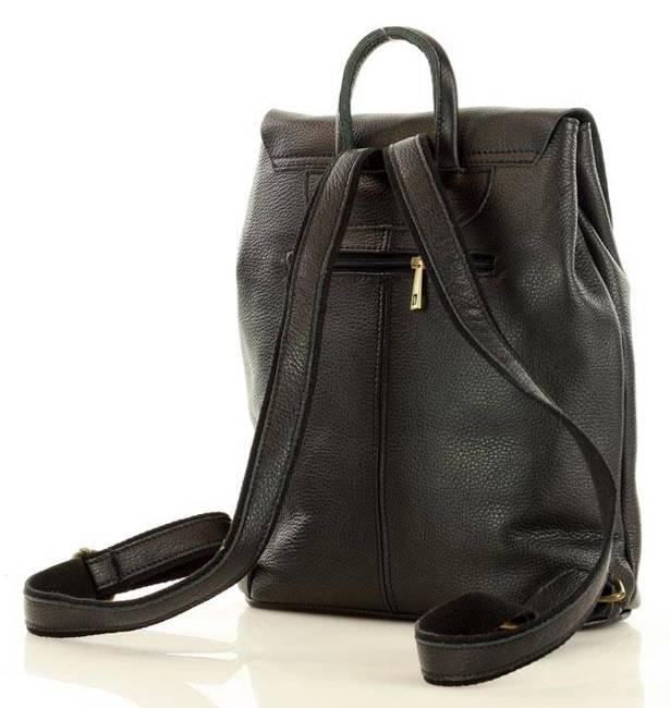Plecak damski czarny MARCO MAZZINI PL57b