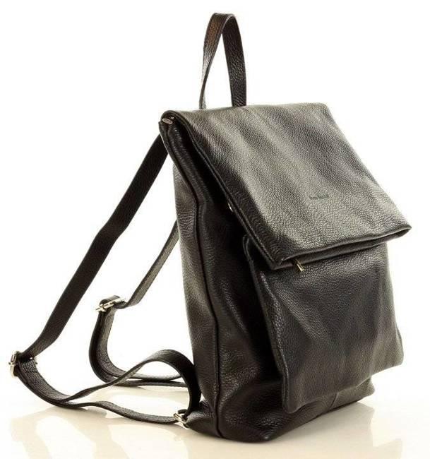 Plecak damski czarny MARCO MAZZINI Pl60a