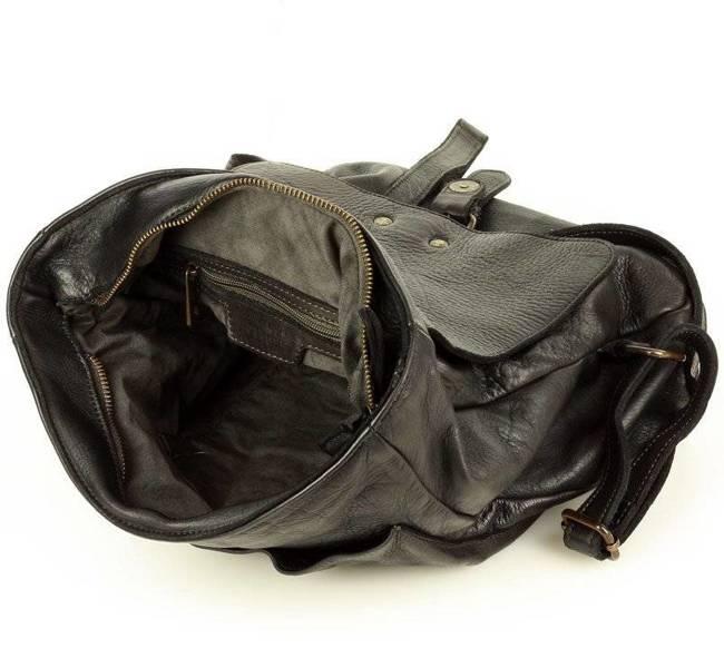 Plecak damski czarny MARCO MAZZINI v135a