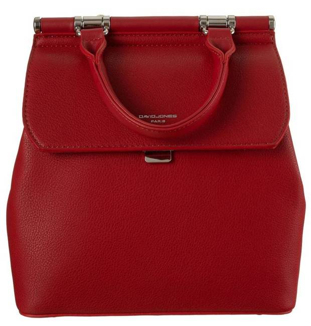 Plecak damski czerwony David Jones 6309-2 RED
