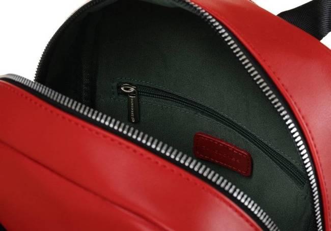 Plecak damski czerwony David Jones CM6072 RED