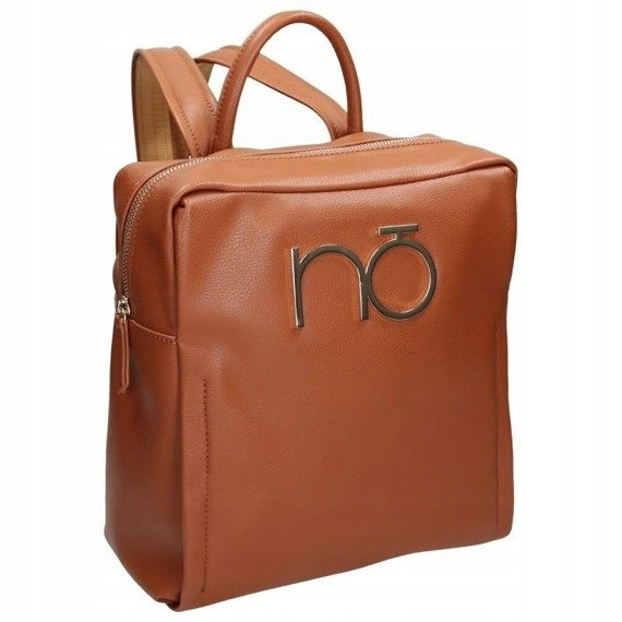 Plecak damski elegancki eko skóra NOBO brązowy