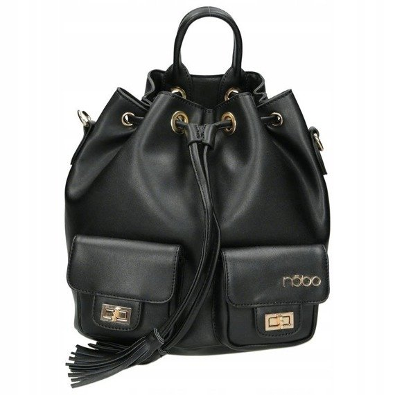 Plecak damski miejski NOBO NBAG-H2560-C020 czarny