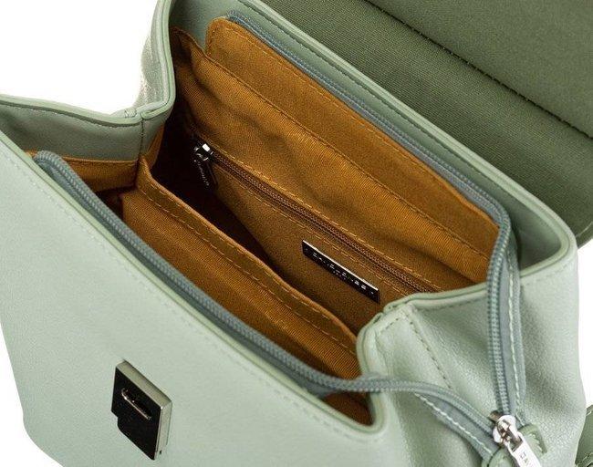 Plecak damski miętowy David Jones 6309-2 PALE GREEN