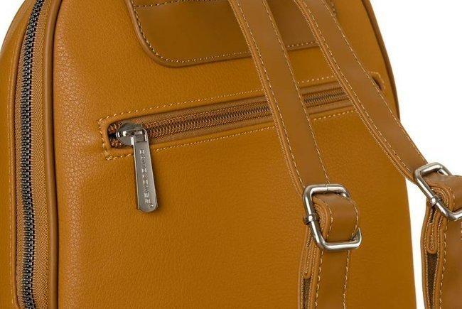 Plecak damski musztardowy David Jones CM6025 MUSTARD