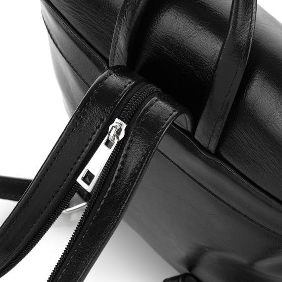Plecak damski skórzany Paolo Peruzzi Z-03-PP szary