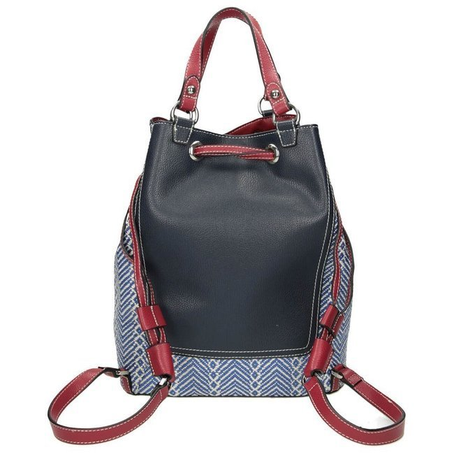 Plecak damski w stylu boho granatowy Nobo NBAG-I3150-C013