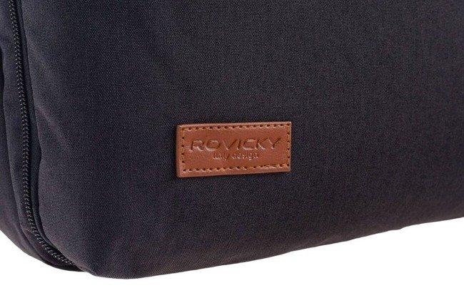 Plecak męski czarny Rovicky NB9764-4337 BLACK