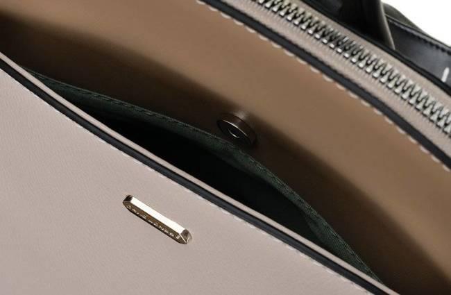 Plecak miejski beżowy David Jones 6509-1 BEIGE