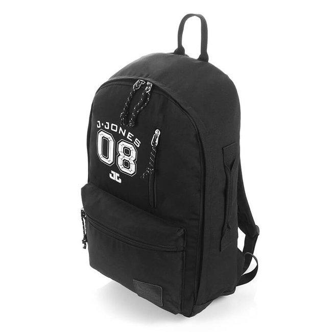 Plecak młodzieżowy na laptopa czarny Jennifer Jones 4090-1