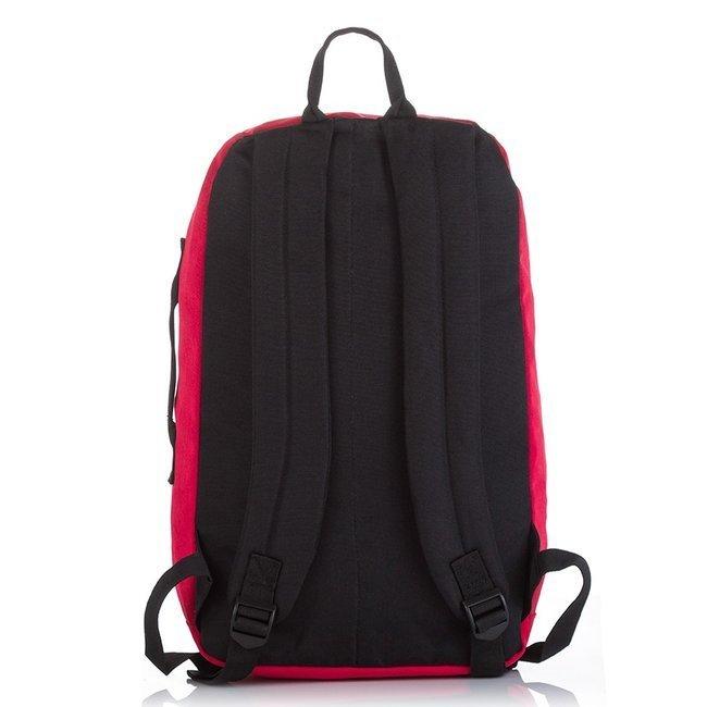 Plecak młodzieżowy na laptopa czerwony Jennifer Jones 4090-1