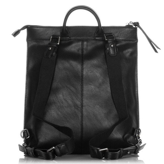 Plecak skórzany damski Jennifer Jones 3132-1 czarny