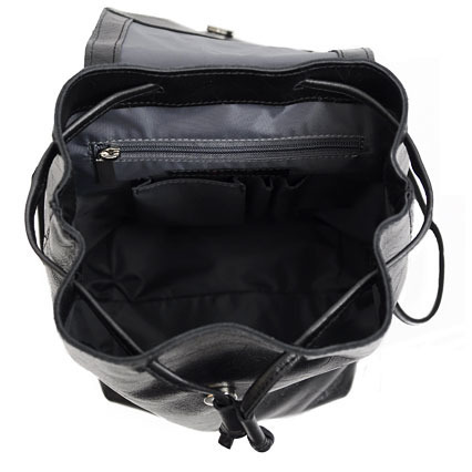 Plecak skórzany unisex czarny DAAG Jazzy Party 72