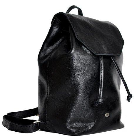 Plecak skórzany unisex czarny DAAG Jazzy Party 76