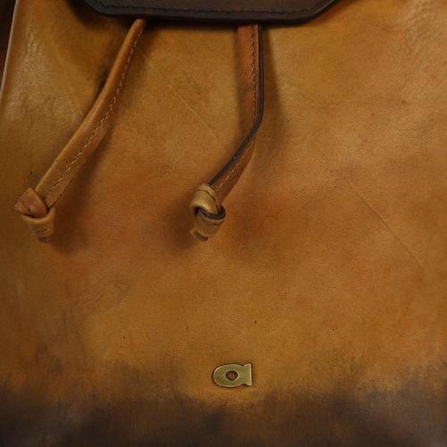 Plecak skórzany unisex koniakowy DAAG ALIVE 31