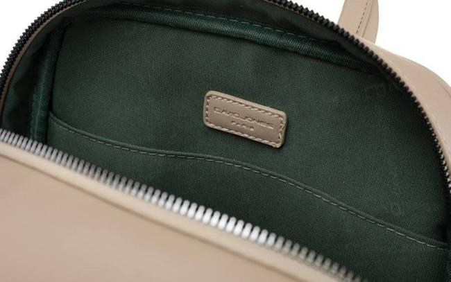 Plecak z kieszenią na tablet beżowy David Jones CM6075 BEIGE