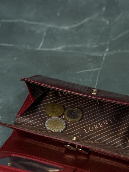 Portfel damski Lorenti czerwony 64003-SN RED