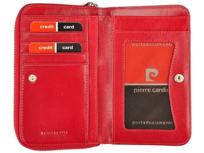 Portfel damski Pierre Cardin 503 YS520.1 CZERWONY