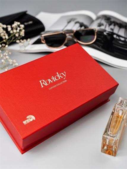 Portfel damski Rovicky 8806 czerwony