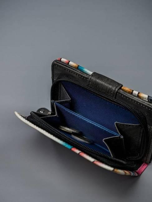 Portfel damski Rovicky czarny R-N109-ART-07 BLACK