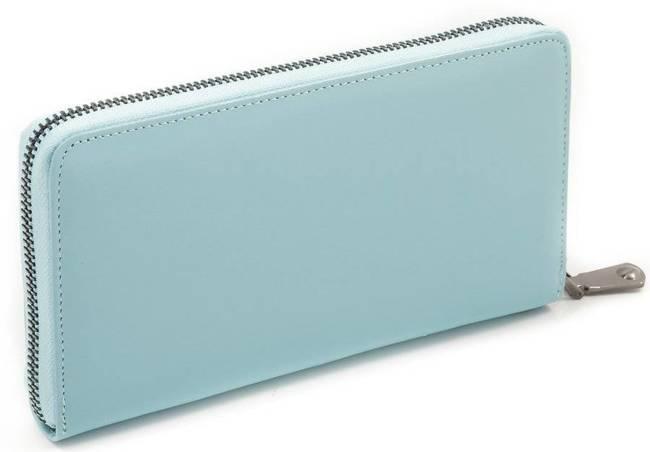 Portfel damski błękitny Lorenti 76119-NIC RFID L.BLU