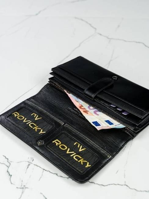 Portfel damski czarny Lorenti 1077-NIC RFID BLACK