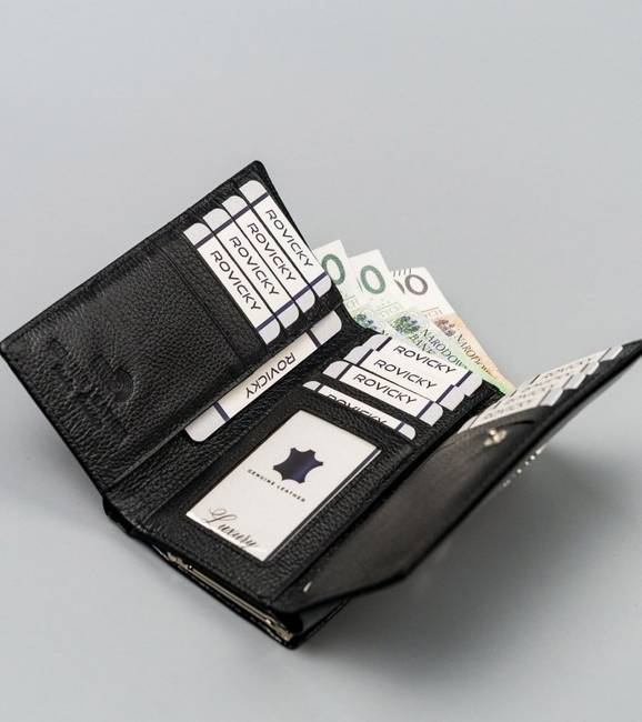 Portfel damski czarny Lorenti 55020-BPR-1318 BLACK