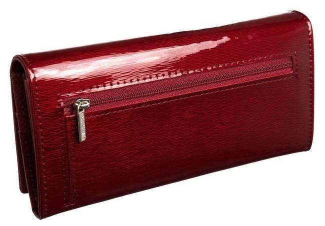 Portfel damski czerwony BADURA  B-72037P-SH RED
