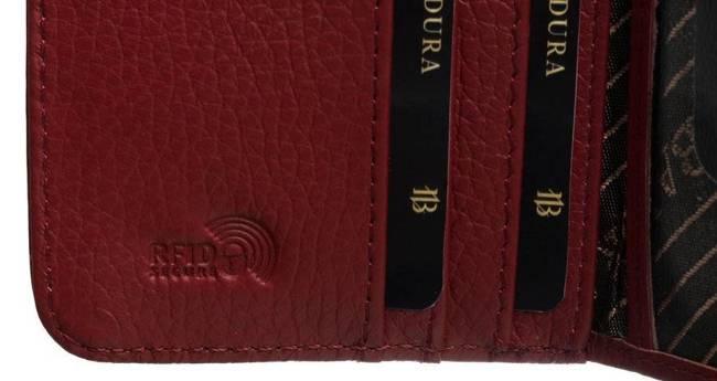 Portfel damski czerwony Badura  B-76116P-SH