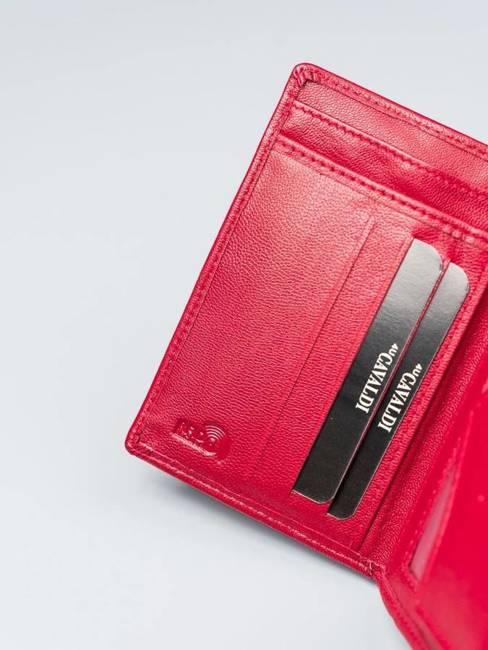 Portfel damski czerwony Cavaldi RD-01-GCL RED