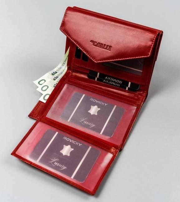 Portfel damski czerwony Cavaldi RD-20-GCL-6467 RED