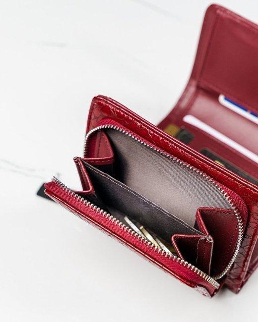 Portfel damski czerwony Milano Design SF1858-SN RED