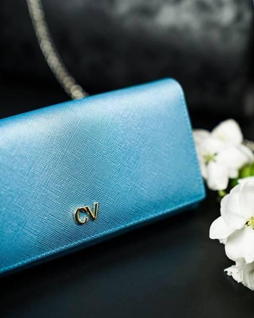 Portfel damski niebieski CAVALDI GD22-16 BLUE