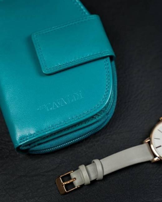 Portfel damski niebieski Cavaldi RD-DB-06-GCL-7313 S.