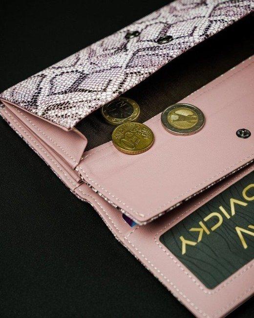 Portfel damski różowy CAVALDI  GD22-11 PINK