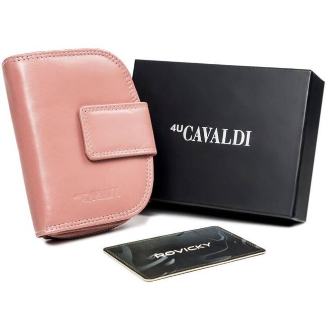 Portfel damski różowy Cavaldi RD-DB-06-GCL-8737 WO