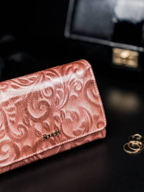 Portfel damski różowy Rovicky 8806-JXW PINK
