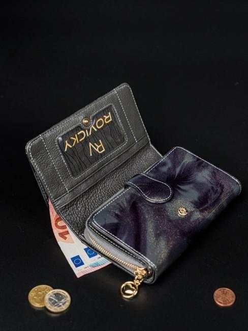 Portfel  damski szary Rovicky 8806-YMA GRAY