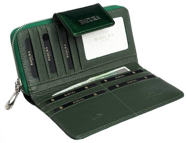Portfel damski zielony Badura B-43879P-SH