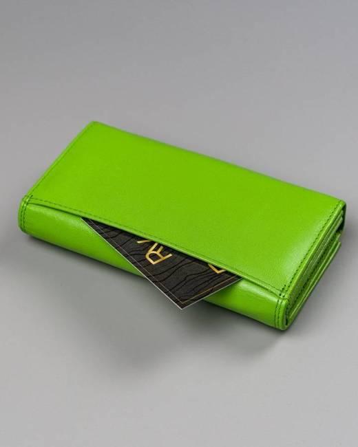 Portfel damski zielony Cavaldi RD-07-GCL MINT