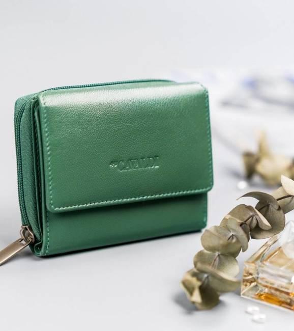 Portfel damski zielony Cavaldi RD-DB-09-GCL-8744 TU