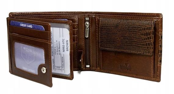 Portfel męski Buffalo Wild N992-VTC brązowy