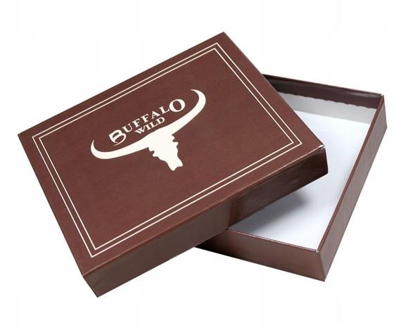 Portfel męski Buffalo Wild czarny RM-05-BAW 2