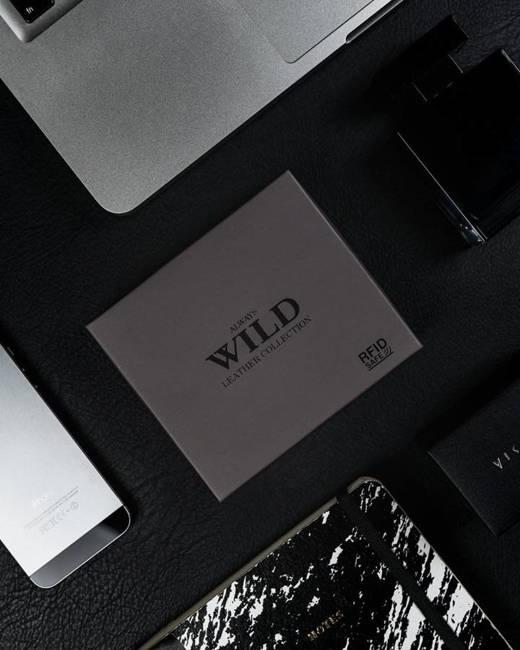 Portfel męski brązowy Always Wild N0035-CHM-8700 BROWN