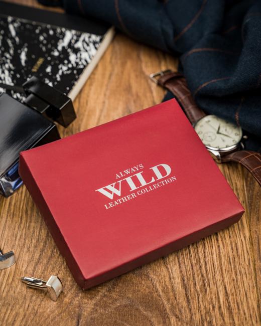 Portfel męski brązowy Always Wild N9001L-VTK-N BROWN