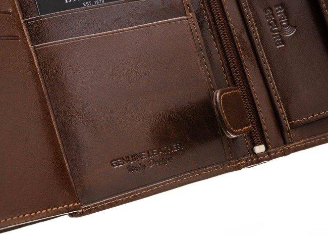 Portfel męski brązowy Badura PO_M030BR_CE