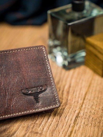 Portfel męski brązowy Buffalo Wild N1186-HP-4970 RUST