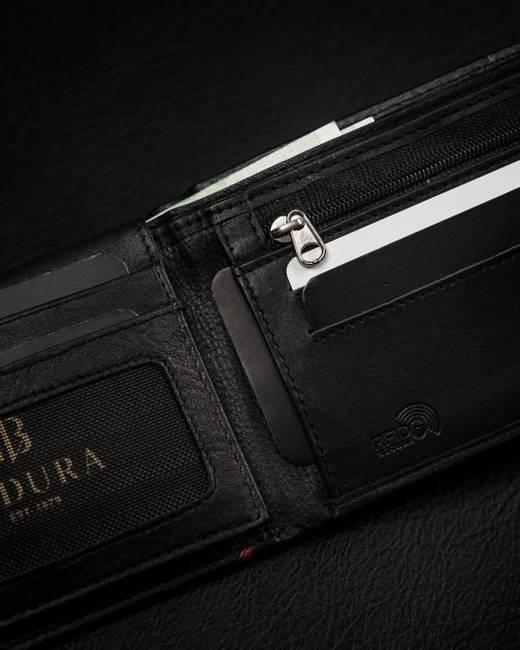Portfel męski czarny Badura B-N30257-CAW BLACK