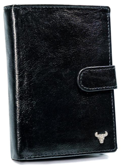 Portfel męski czarny Buffalo Wild N104L-BW BLACK